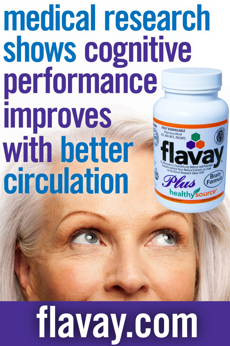 Flavay Increases Blood Flow to Brain