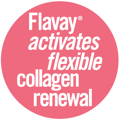 Flavay activates healthy and flexible collagen renewal