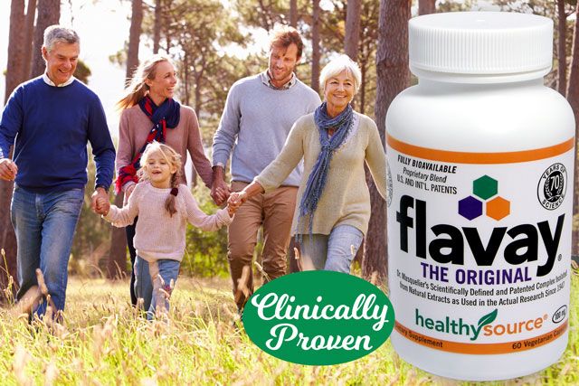 Flavay is a safe, natural remedy for reducing inflammation and pain.