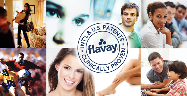 Flavay: U.S. and International Patents and Clinically Proven